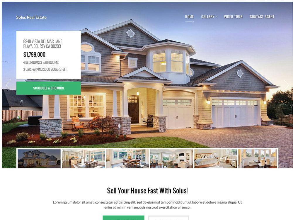 Solus - 36+ Best WordPress Real Estate Themes [year]