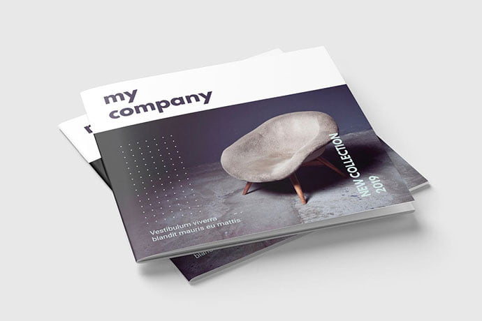 Square-Magazine-or-Brochure - 50+ Awesome Interior Magazine InDesign Templates [year]