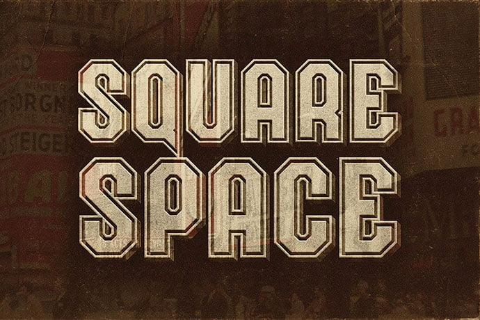 Squarespace - 30+ Awesome BEST Square based Geometric Fonts [year]