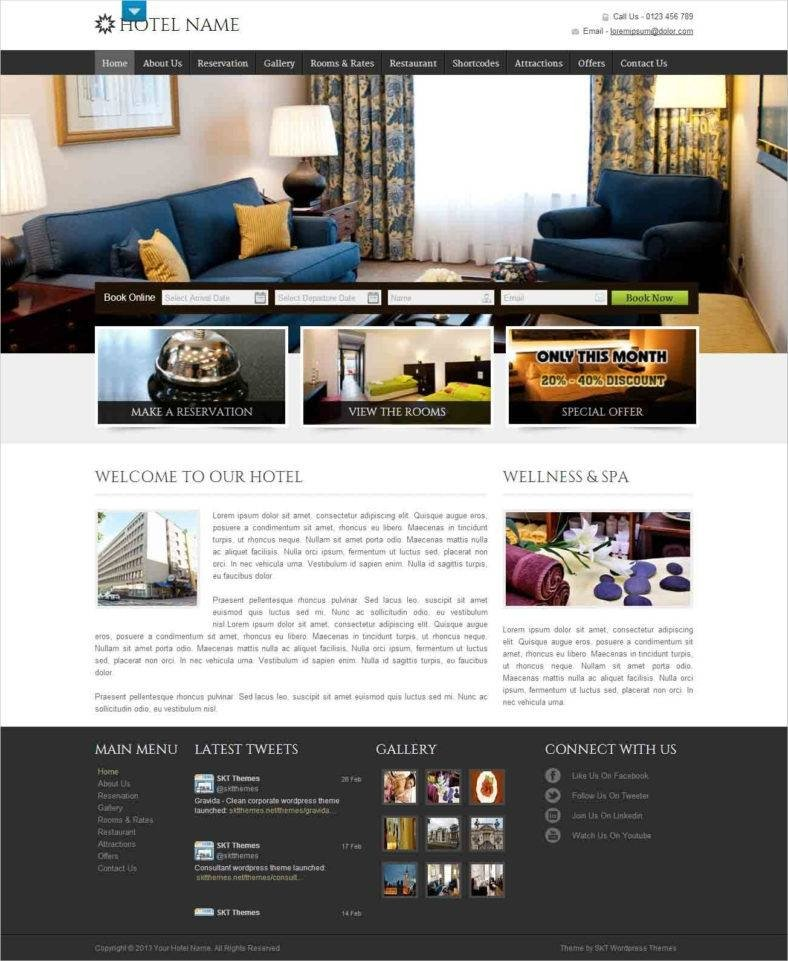 Stay-Here-SKT - 41+ Awesome Responsive HTML5 Web Templates [year]