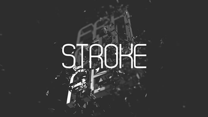 Stroke - 35+ Fantastic Science Fiction & Fantasy Fonts For You [year]