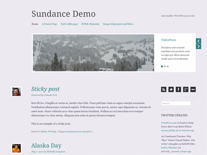 Sundance - 61+ Free Creating Responsive WordPress Themes [year]
