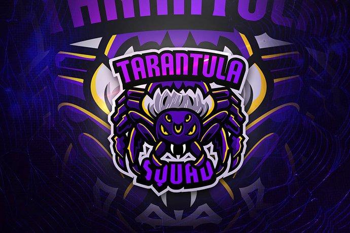 Tarantula-Squad - 60+ Personal & Team Branding AI & EPS eSports Logo Templates [year]