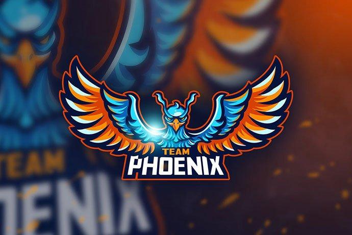 Team-Phoenix - 60+ Personal & Team Branding AI & EPS eSports Logo Templates [year]