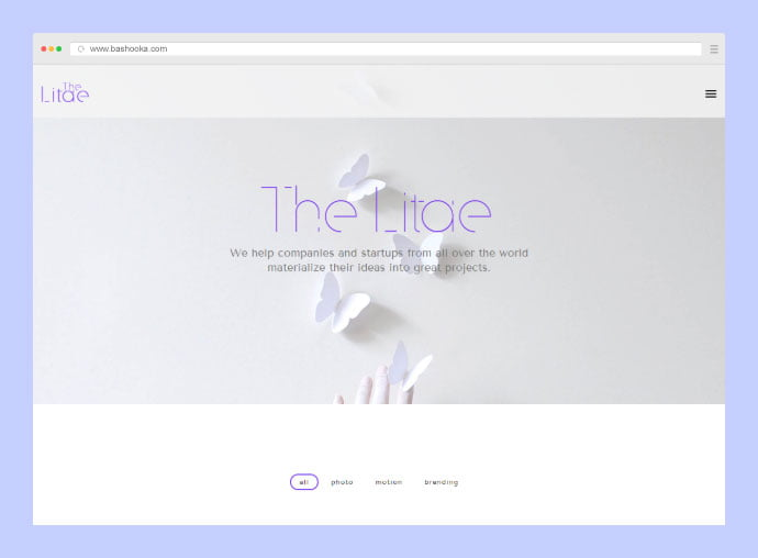 The-Litae - 35+ Compelling Case Study WordPress Themes [year]