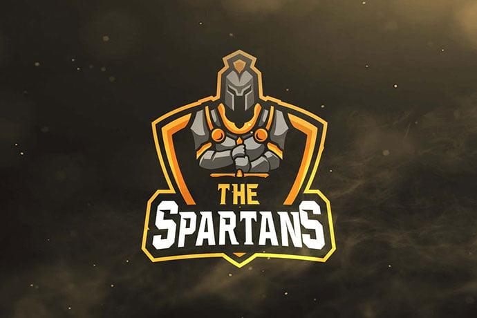 The-Spartans - 60+ Personal & Team Branding AI & EPS eSports Logo Templates [year]
