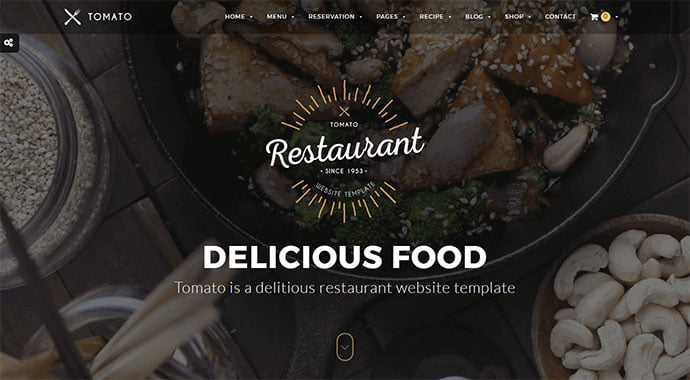 Tomato - 36+ Delicious Cooking Idea Share WordPress Themes [year]