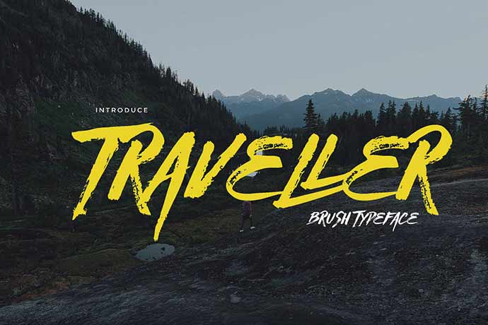 Traveller - 51+ Stunning Travel Theme Designs Fonts For Your Website [year]