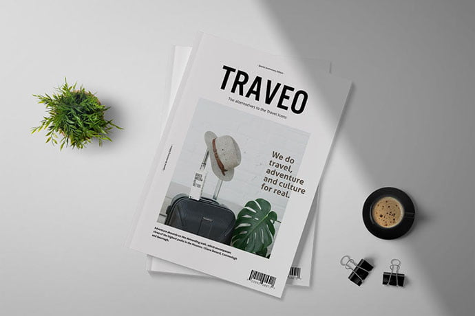 Traveo - 50+ Awesome Interior Magazine InDesign Templates [year]