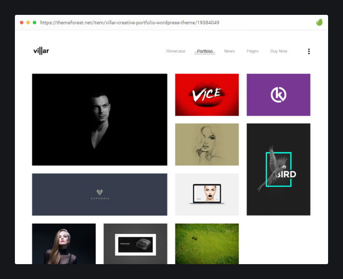 Villar - 30+ Awesome Showcasing Illustrations WordPress Themes [year]