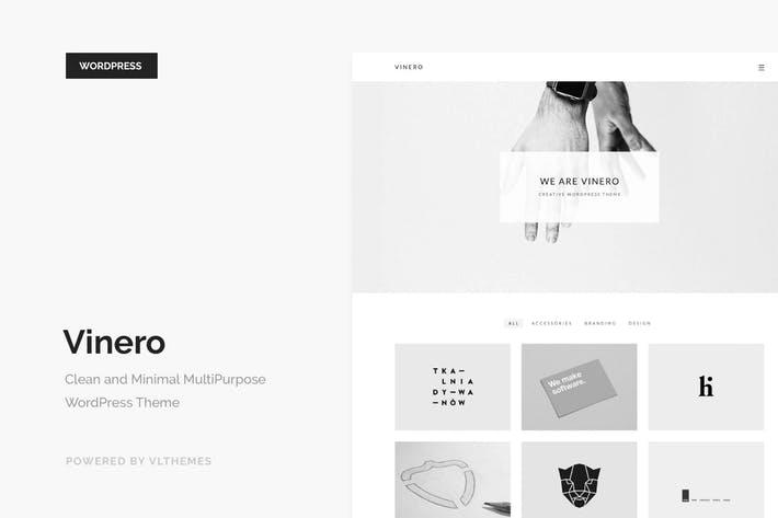Vinero - 50+ Best Portfolio WordPress Theme Design [year]