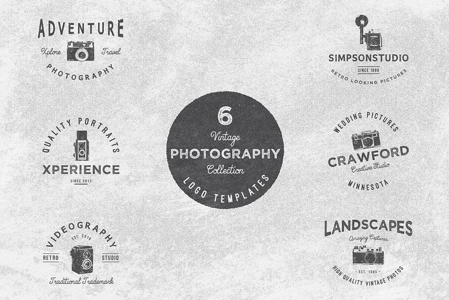 Vintage - 31+ Awesome Watermark Photographer Logo Templates [year]