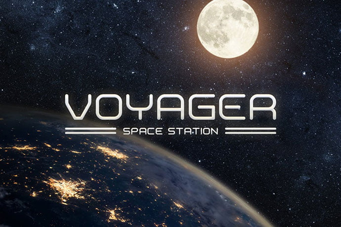 Voyager - 35+ Fantastic Science Fiction & Fantasy Fonts For You [year]