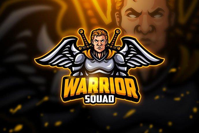 Warrior - 60+ Personal & Team Branding AI & EPS eSports Logo Templates [year]