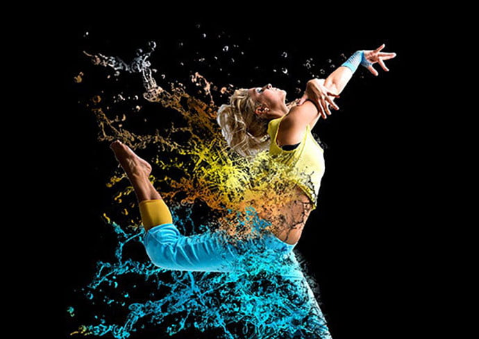Water-Scatter - 30+ Awesome Splatter Painting Effect Photoshop Actions [year]