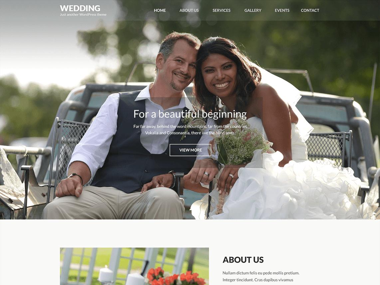 Wedding-Band - 18+ Best Free Wedding WordPress Themes