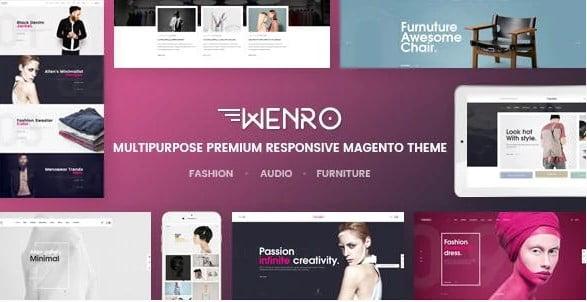 Wenro - 31+ Multicolor WordPress eCommerce Themes [year]