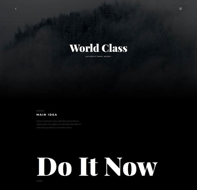Wythe - 30+ Stunning Typography Portfolio WordPress Themes [year]