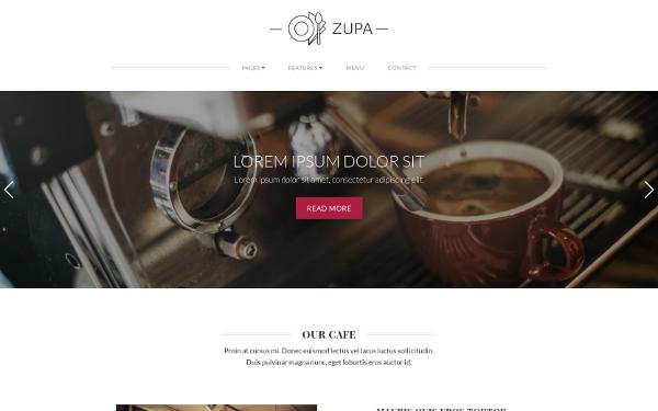 ZUPA - 41+ Stunning Restaurant Website HTML5 Templates [year]