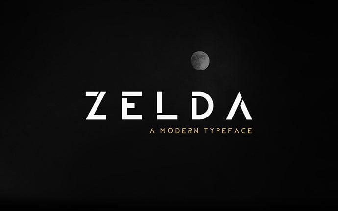 Zelda - 35+ Fantastic Science Fiction & Fantasy Fonts For You [year]