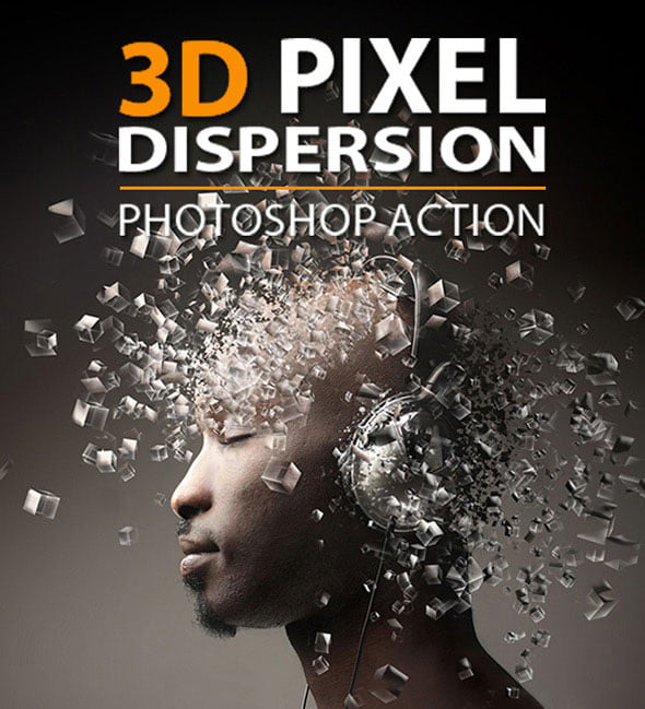 by-alekad - 35+ Awesome 3D Image Manipulation Photoshop Actions [year]
