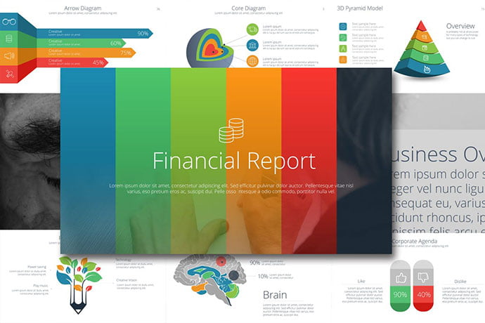 ukujh - 35+ Attractive Annual Report Powerpoint Templates [year]