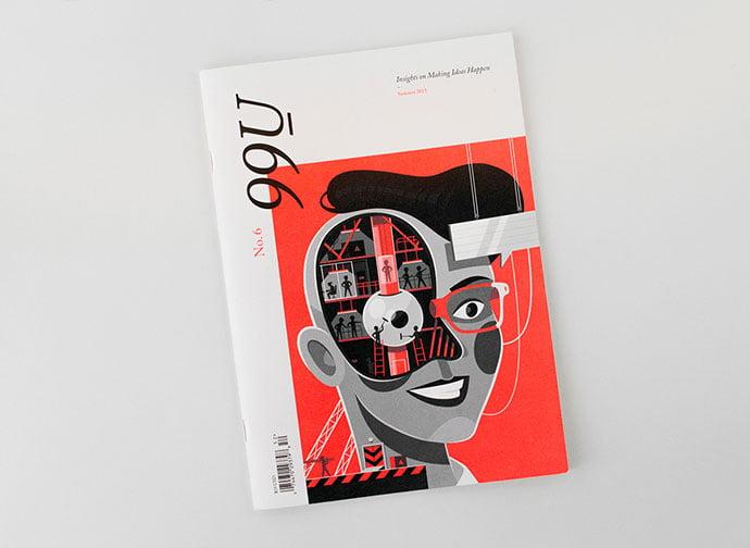 99U-Quarterly - 63+ Surprising Typography In Magazine & Book Designs [year]
