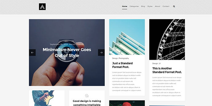 Abstract - 65+ Amazing Free CSS HTML5 Website Design Templates [year]