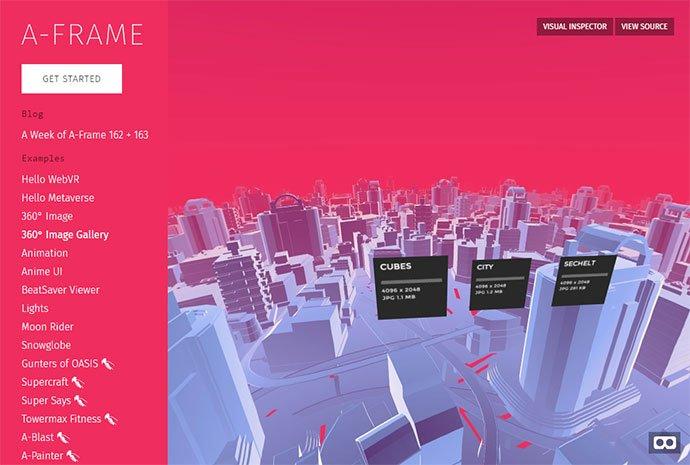 Aframe - 26+ Amazing 360 Degree Image & Video Javascript Plugins [year]