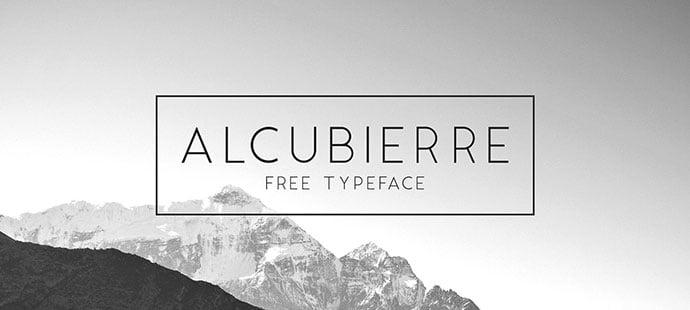 Alcubierre - 36+ Free Quality Sans-Serif Designer Fonts [year]