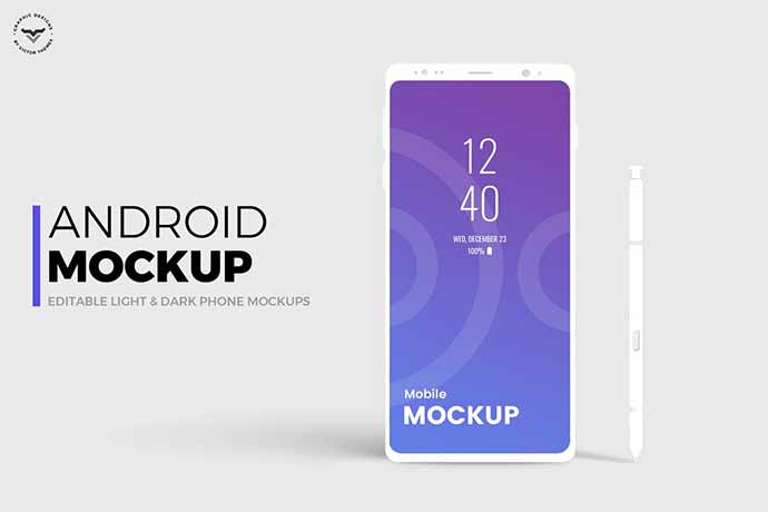 Android-Mobile-Mockups - 51+ Amazing iOS and Android Phone PSD Mockup Templates [year]