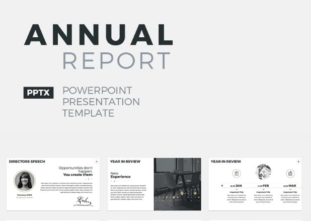 Annual-Report - 41+ Best Selling PowerPoint Templates Presentations Your Business [year]