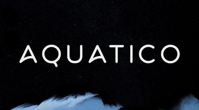 Aquatico - 36+ Free Quality Sans-Serif Designer Fonts [year]