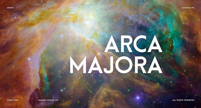 Arca-Majora - 36+ Free Quality Sans-Serif Designer Fonts [year]