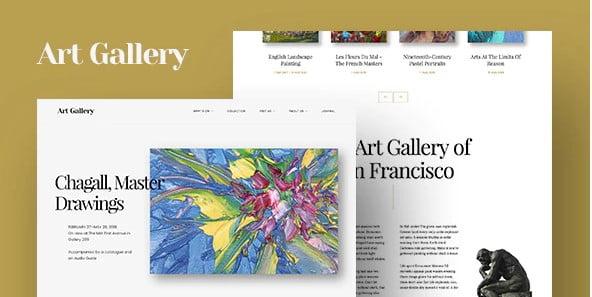 Arte - 41+ Awesome Logo Designer WordPress Themes [year]