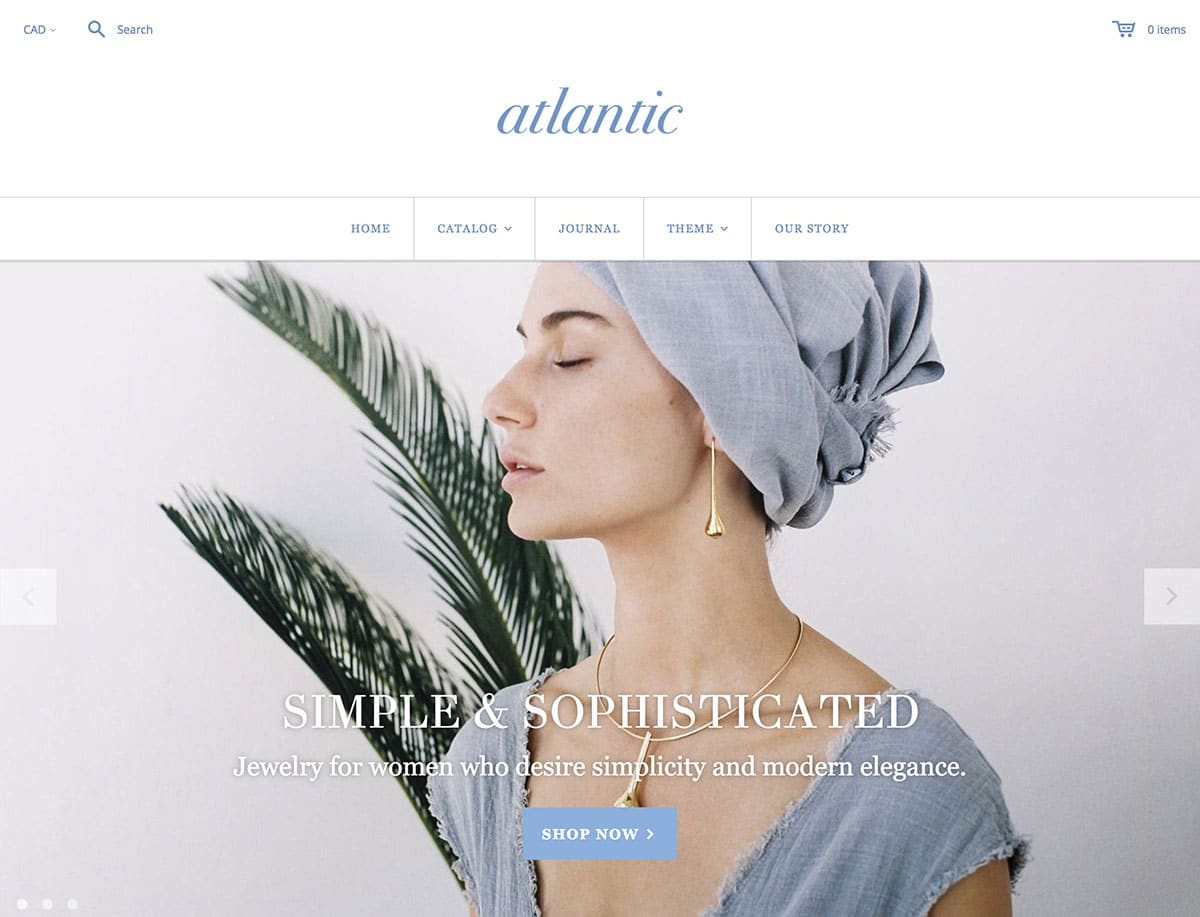 Atlantic - 41+ Awesome Shopify Themes For Your Business [year]