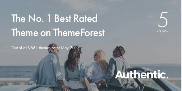 Authentic - 36+ Inspiring Best Coaching WordPress Themes [year]