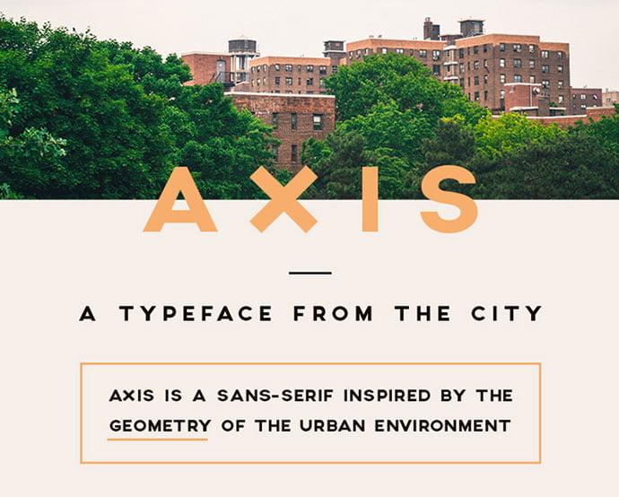 Axis - 36+ Free Quality Sans-Serif Designer Fonts [year]