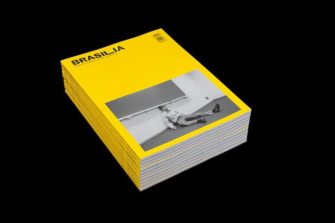 BRASILIA-No-3 - 63+ Surprising Typography In Magazine & Book Designs [year]