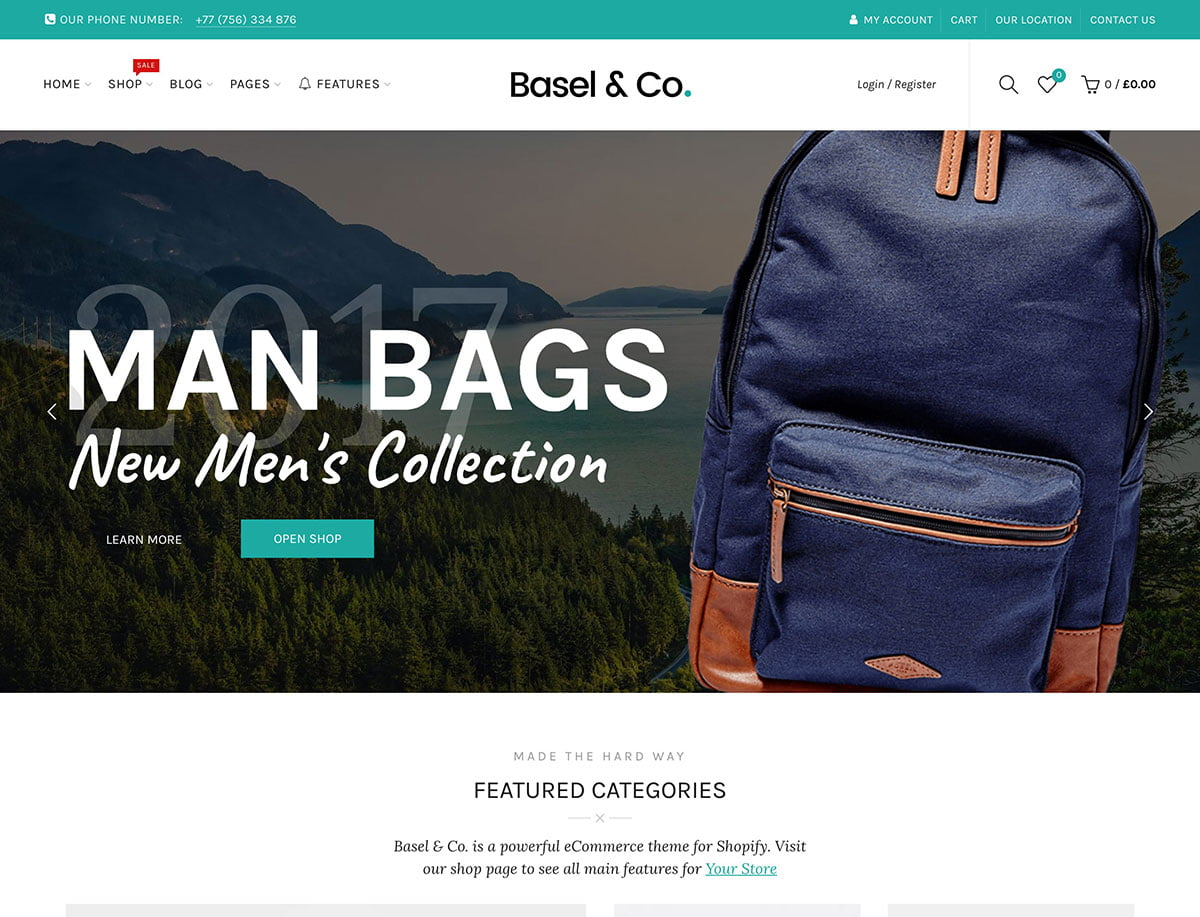 Basel-2 - 41+ Awesome Shopify Themes For Your Business [year]