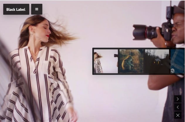 Black-Label - 26+ Nice WordPress Video Themes For Motion Designer [year]