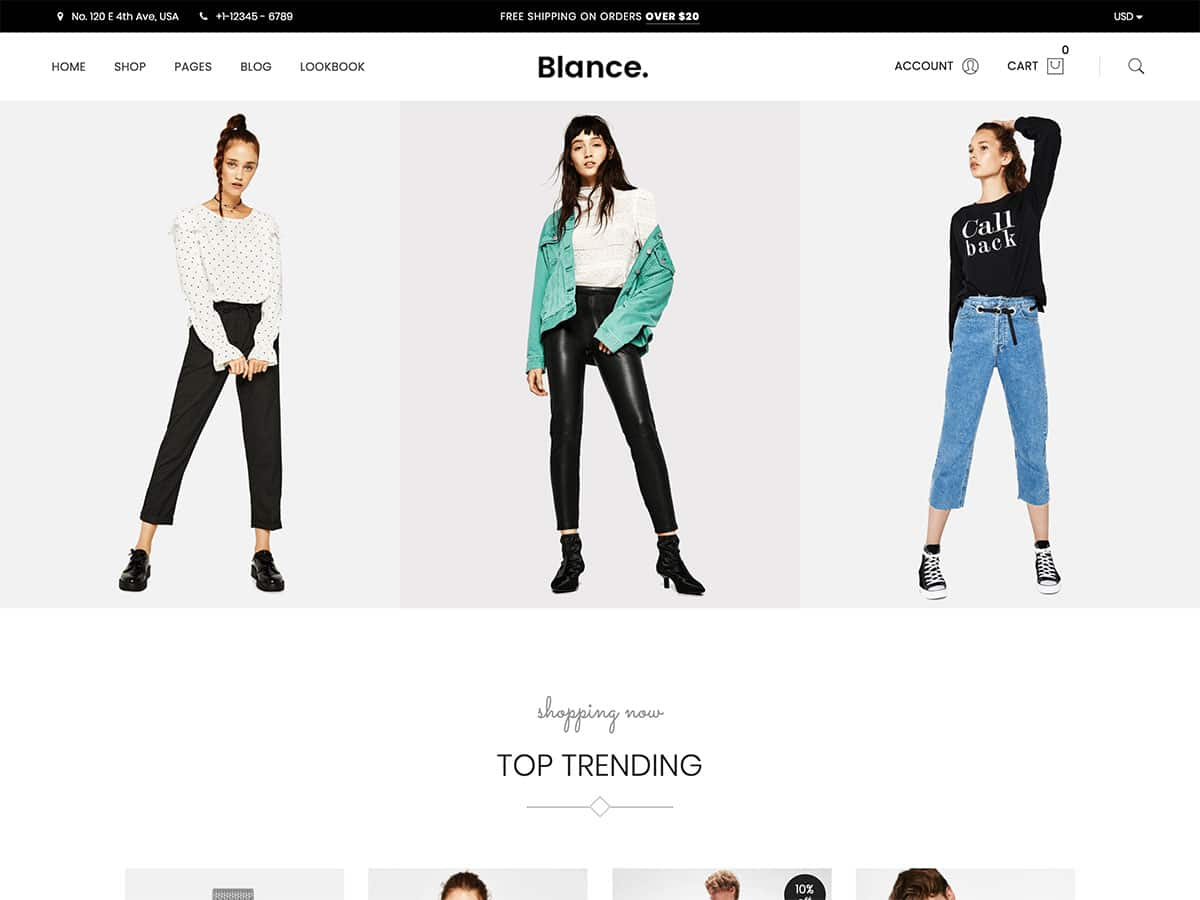 Blance - 46+ Top Best WordPress Themes For Ecommerce [year]