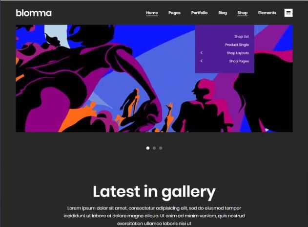 Blomma - 26+ Nice WordPress Video Themes For Motion Designer [year]