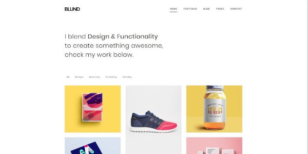 Blund - 31+ Nice Game UI Designer Portfolio WordPress Themes [year]