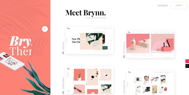 Brynn-1 - 31+ Nice Game UI Designer Portfolio WordPress Themes [year]