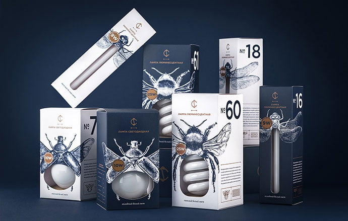 CS-Light-Bulbs - 38+ Awesome Free Packaging Designs that Automatically Sell [year]