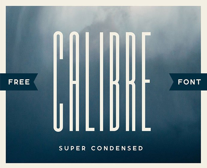 Calibre - 32+ Honestly Impressive Distorted Fonts [year]