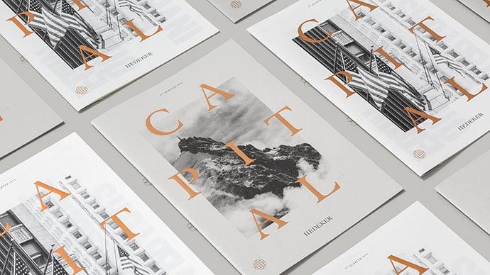 Capital-Magazine - 63+ Surprising Typography In Magazine & Book Designs [year]