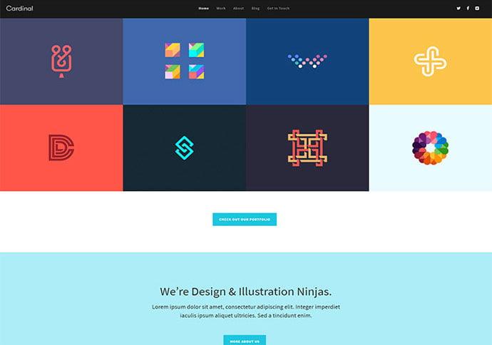 Cardinal-1 - 41+ Awesome Logo Designer WordPress Themes [year]