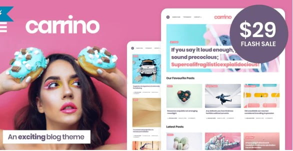 Carrino - 36+ Inspiring Best Coaching WordPress Themes [year]